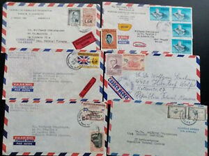 Honduras cover collection , many Express items