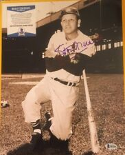 STAN MUSIAL AUTOGRAPH 11X14 st. louis cardinals photo beckett certified