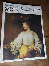 Rembrandt book grands peintres chef-d'oeuvre de l'art Rembrandt 27 livre