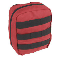 CONDOR TACTICAL MILITARY EMT MEDIC POUCH FIRST AID KIT HOLDER WEBBING MOLLE RED