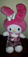 "Build-A-Bear Workshop Stuffed My Melody by Sanrio 18"" Animal Plush hello kitty"
