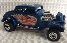 "MATCHBOX 1982 WILLYS STREET ROD BLUE ""White Heat"" 313 (@8)"