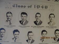 Composite Photo Class of 1948 Reitz Memorial High School Evansville IN Boys Only