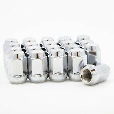 24 Lug Nuts Bulge Acorn 7/16-20 Chrome fits Chevrolet GMC K5 K10