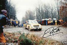 "World Rally Championship Driver Jean Ragnotti Hand Signed Photo 12x8""  AG"