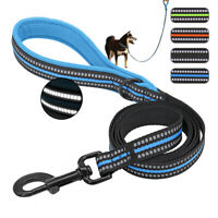 5ft Nylon Walking Dog Lead Reflective Training Lead for Small Meiudm Large Dogs
