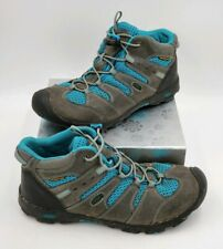Keen Pagosa Mid Waterproof Hiking Boots Blue Bungee Womens Sz 6 EUR 38