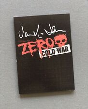 Zero 'Cold War' Dvd Signed by Jamie Thomas