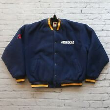 Vintage 90s San Diego Chargers Jacket Size XL Made in USA Los Angeles