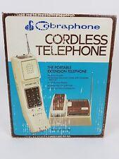 VTG Cobra Phone Cordless Portable Extension Telephone CP-220S-BG