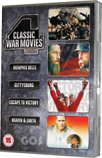 Memphis Belle Gettysburg Escape To Victory Heaven And Earth Classic War Film DVD