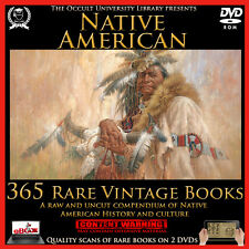 Native American Indian Apache Cherokee Aboriginal Iroquois Pueblo Books on DVD