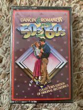 BRAND NEW Sealed VINTAGE 1992 DANCIN & ROMANCIN IN THE 50s & 60s CASSETTE TAPE!