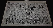 Illustrated Sanctuary Insaniac Northwinds 1991 Nj Gig Poster Thrash Metal Rare