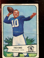 1954 Bowman Football Card #'s 1-132 - You Pick - Buy 10+ cards FREE SHIP