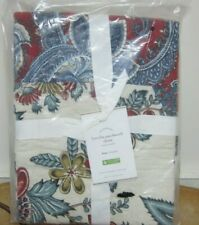 Pottery Barn Fiorella Patchwork Pillow Sham Size King - New with tags