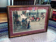 """VINTAGE LANCE THACKERAY """"CARRIAGE RIDE   ** MINT **"""