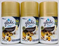 3 Glade Elegant Amber & Oud Automatic Spray Refill