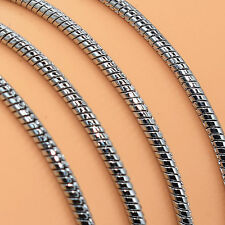 Stainless Steel Men Fashion 3MM Width 18Inch Fashion Chain Link Necklace X5