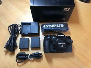 Olympus OM-D E-M1 Mark II 20.4 MP Digital Camera  - under 1500 shutter count!