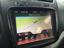 DODGE JOURNEY RB5 8.4N UCONNECT GPS NAVIGATION RADIO 2012 2013 2014 2016 2017