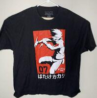 Naruto Shippuden Collection Shirt Sz 3XL Anime Manga Kakashi Hatake