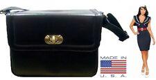 NEW! US Military Issue Women's Black Purse Army & Navy Handbag Nice! G.I. Issue