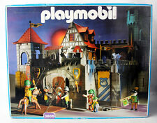 VERY RARE VINTAGE 1993 PLAYMOBIL 3666 BIG CASTLE KNIGHTS MEDIEVAL NEW MIB !