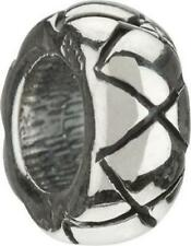 ⭐️ New Chamilia XX DESIGN SPACER Sterling 925 Charm Bead PA-10 $20 ~A MUST HAVE~