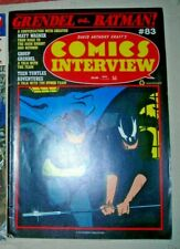 Comics Interview #83 VF MATT WAGNER GRENDEL BATMAN TURTLES ETC ONLY 1 ON EBAY UK
