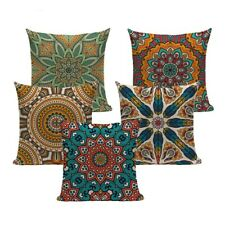 decorative throw pillows for couch retro bohemian floral cushion cover