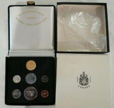 1867-1967 CANADA GOLD .552 $20 SET X 7 COINS SILVER ROYAL MINT BOXED CENTENNIAL