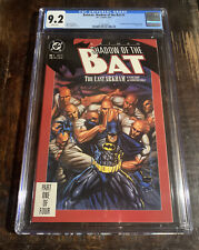 Batman: Shadow of the Bat #1 CGC 9.2 ⭐️1st Appearance Of Victor Zsasz! ⭐️⭐️