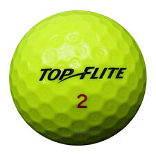 100 top-flite d2 distance amarillo pelotas de golf en bolsa de malla aa/AAAA lakeballs Golf