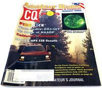 CQ AMATEUR RADIO Jan. 2004 HAM MAGAZINE Isotron 20/15/10 Antenna HAARP Thule OX3