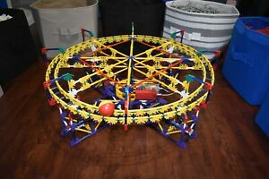 K'nex Circle Ball Machine Over 1,000 Pieces COMPLETE SET W/ Instructions & Motor