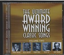 The Ultimate Award Winning Classic Songs CD volume two like new