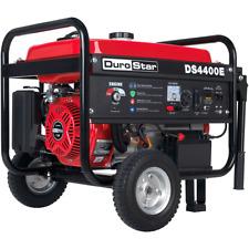 DuroStar DS4400E 4400-Watt 212cc Electric Start OHV Gas Generator w/Wheel Kit