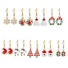 Christmas Earrings Jewelry Set for Women Girls -Nickel Free 9 Pairs Xmas Gifts