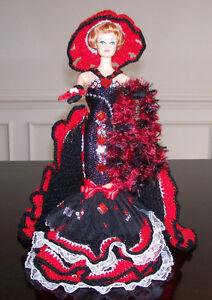 "11"" Handmade Hand Crochet Doll"