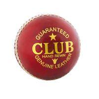 Readers Club Senior Mens Adult Cricket Ball Red