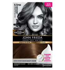 John Frieda Precision Foam Colour 6.5PBN Lightest Cool Almond Brown 130ml