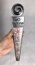 "Two Brothers Brewing Co ""Peppermint Bark"" Beer Pewter Tap Handle"