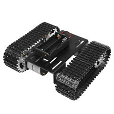 Smart Robot Tank Car Chassis Kit Rubber Track Crawler for Arduino DC12V Motor