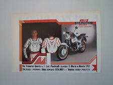 advertising Pubblicità 1987 STILMOTOR e MOTO HONDA XL 600