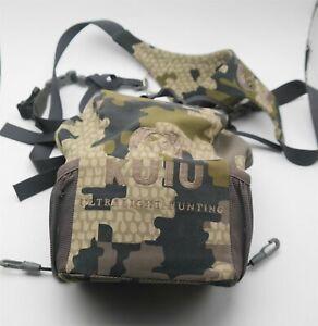 Kuiu Hunting Camo Bino Harness Binocular Chest Shoulder Rig Nice