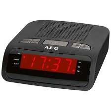 AEG MRC 4142 Radio despertador sintonizador digital PLL FM 2 alarmas 10 memorias