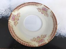 """Noritake Royal Ruby Occupied Japan Saucer - 5-5/8"""" - Excellent"""
