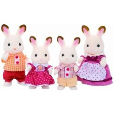 Sylvanian Families Chocolate Rabbit Family - Brand New!