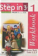 Anglais Let's Step in 3e : Workbook 1 et 2, Palier 2, Nive...   Livre   état bon